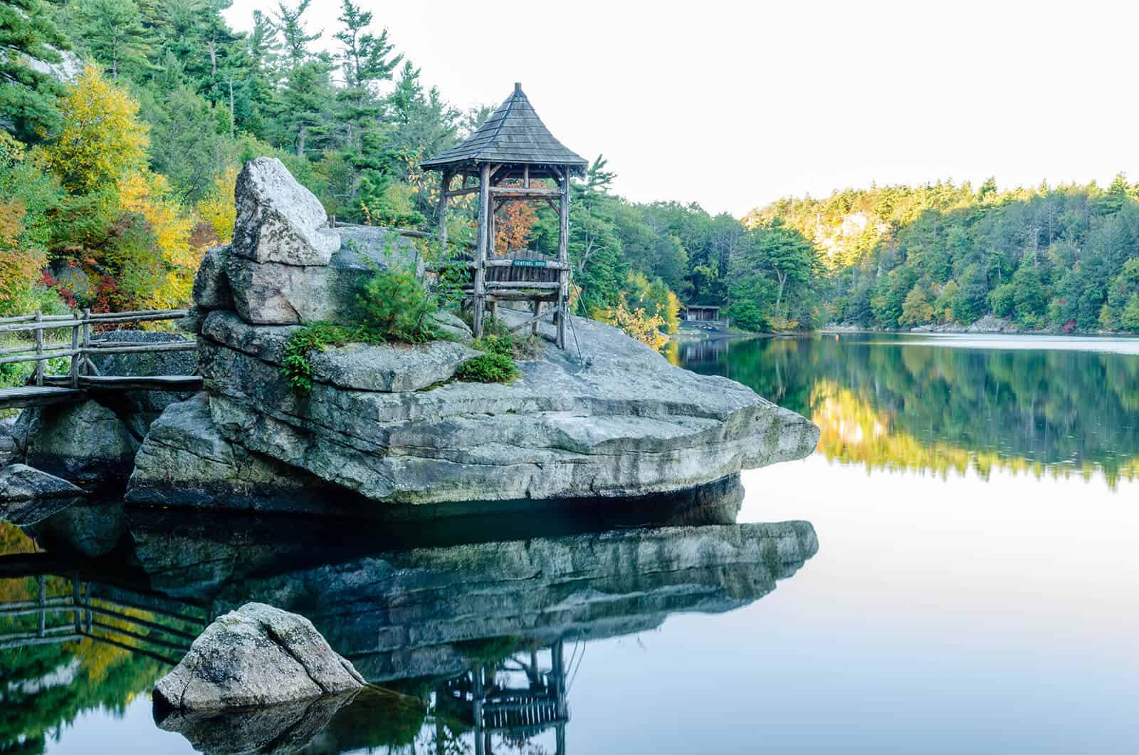 Mohonk Lake - Upstate New York Resort