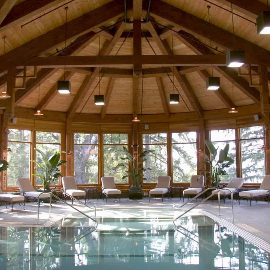 Indoor Pool at Mohonk Mountain House
