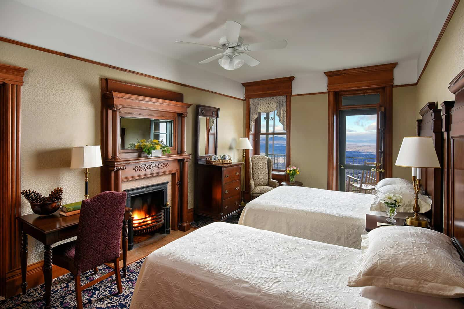 Mohonk Mountain House Accommodations - Hudson Valley View
