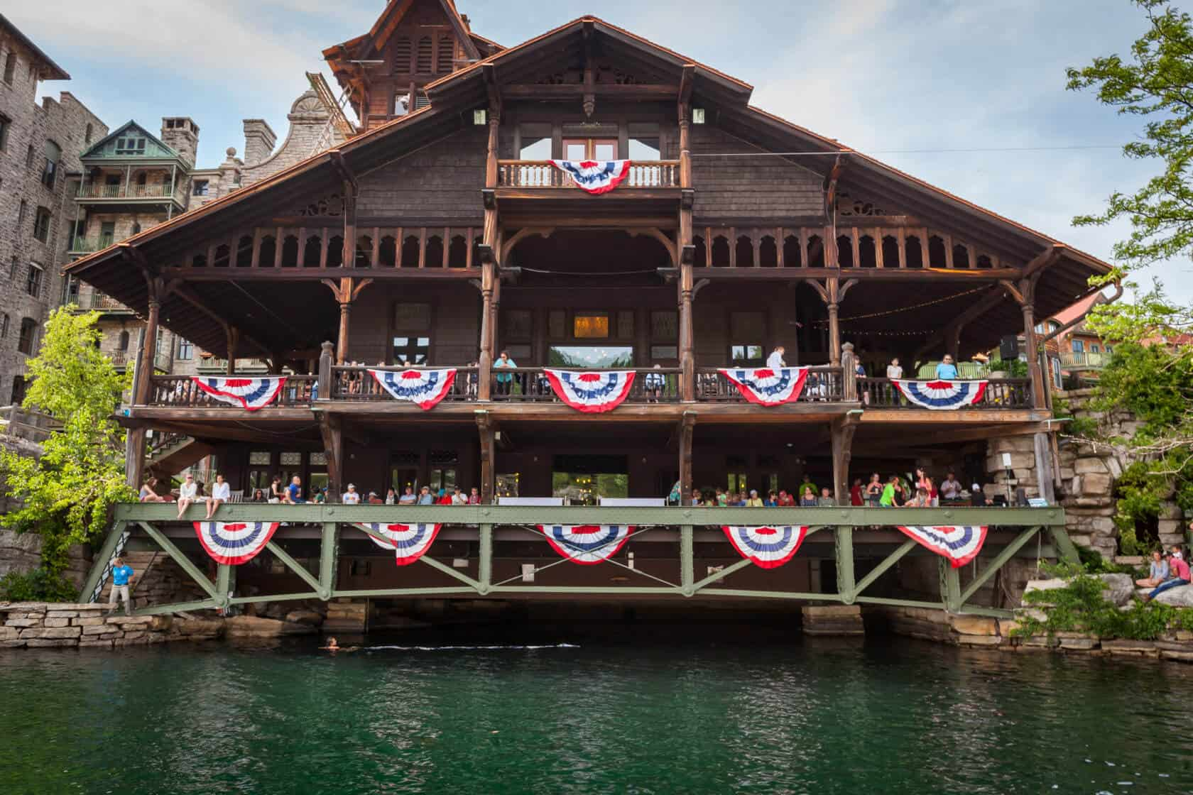 Mohonk Mountain House, 4th of July
