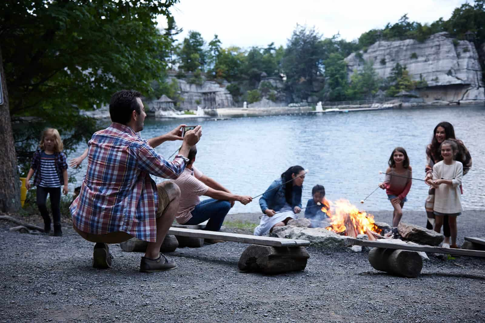 New York Family Vacation - Camp Fire - Mohonk Mountain House
