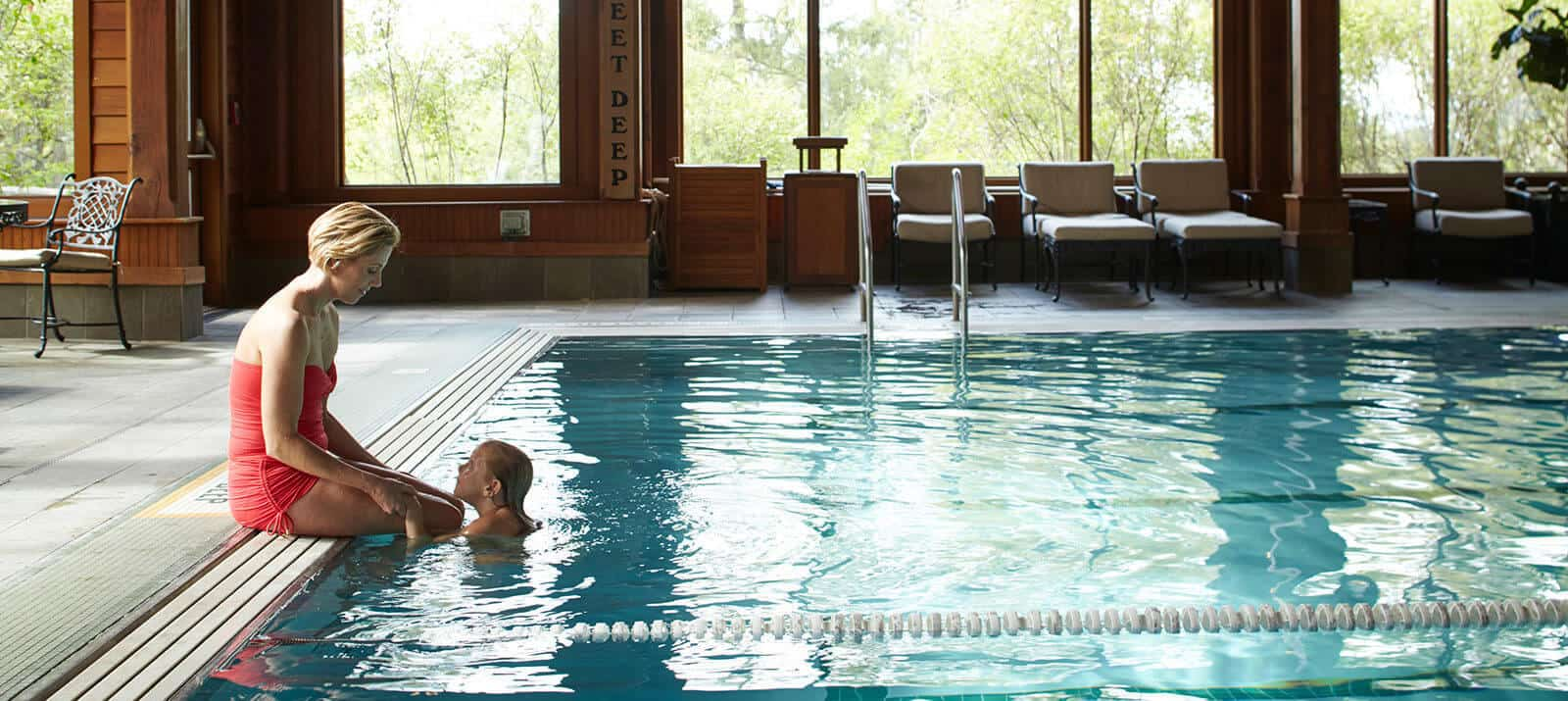 Pool and Spa at Mohonk Mountain House
