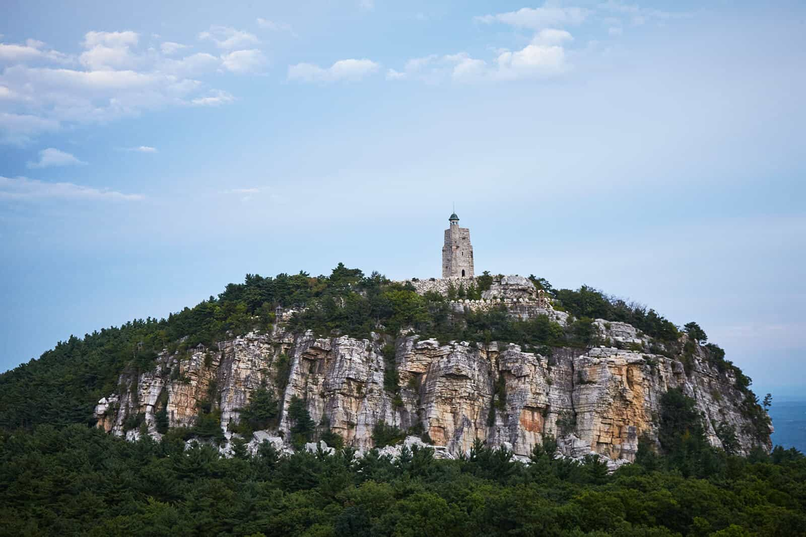 Skytop Tower - Mohonk Hiking Trails - Hudson Valley Getaway