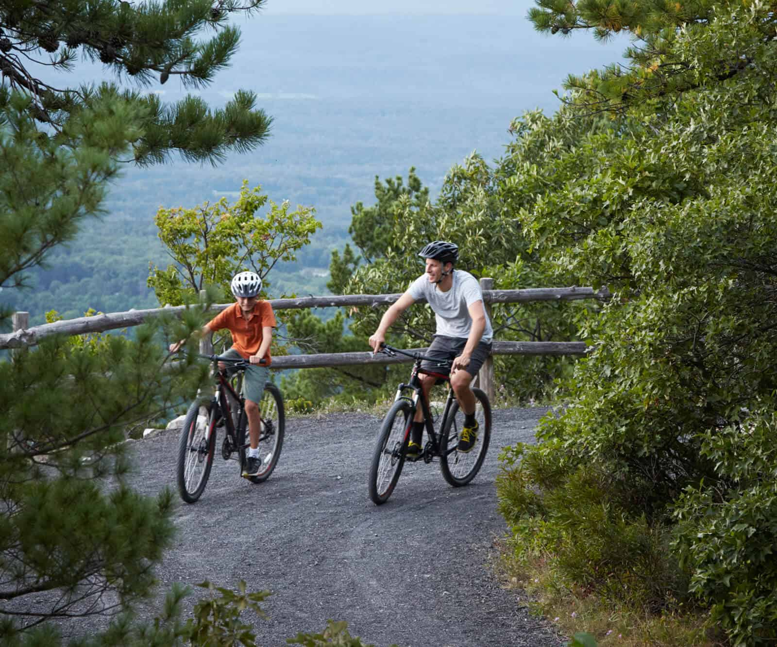 Mountain Biking - Mohonk Trails - Upstate New York