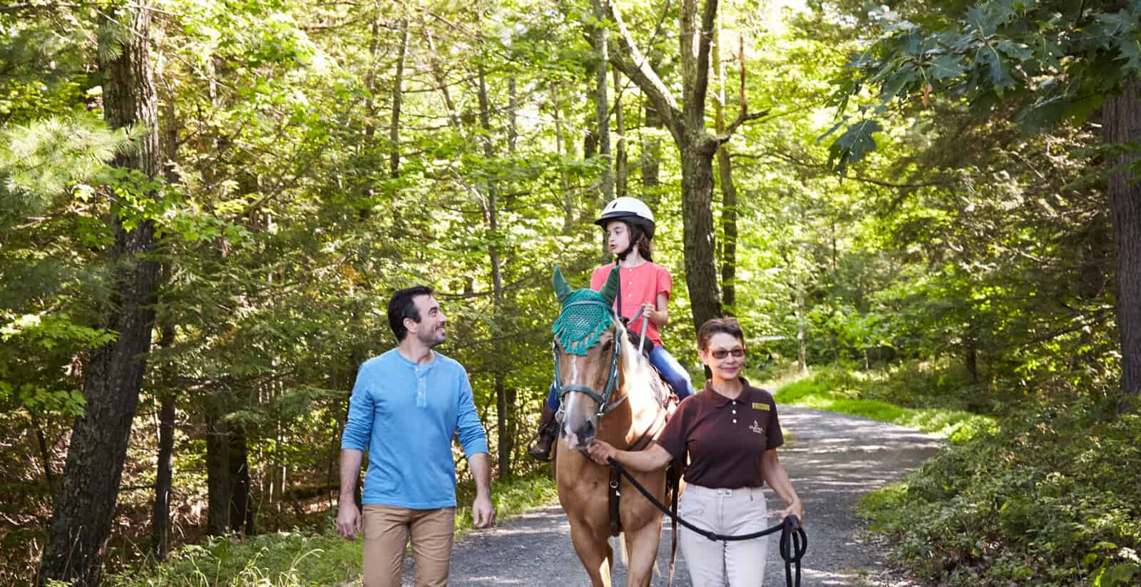 Horseback Riding - Outdoor Activities - Hudson Valley - Mohonk