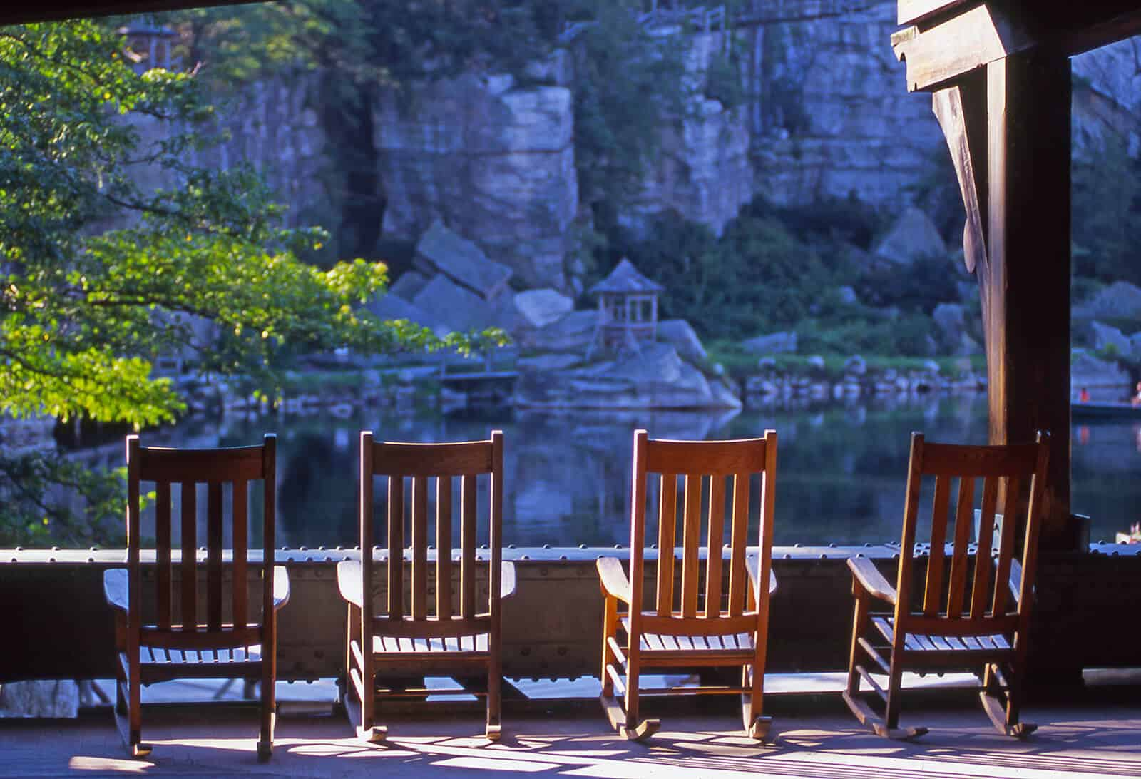 Back Porch - Lake View - Mohonk Mountain House
