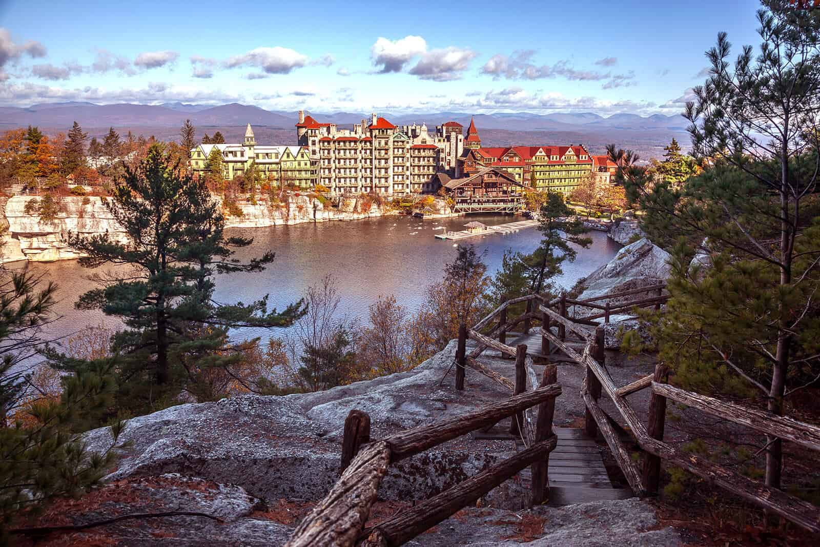 Mohonk Mountain House in Fall - Hudson Valley Vacations