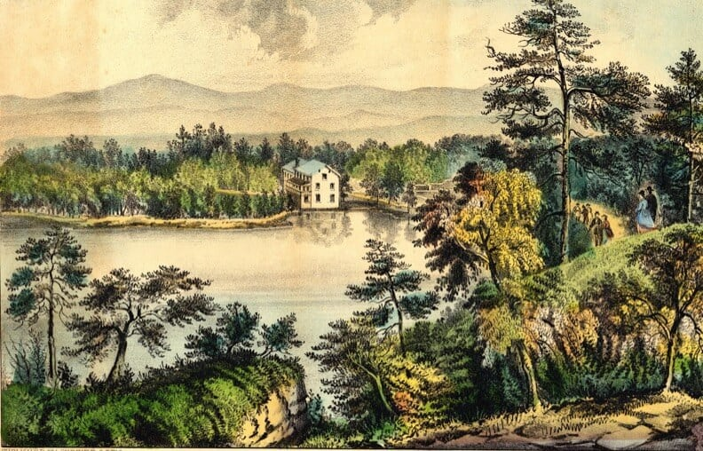 Stokes Tavern - Mohonk Mountain House History