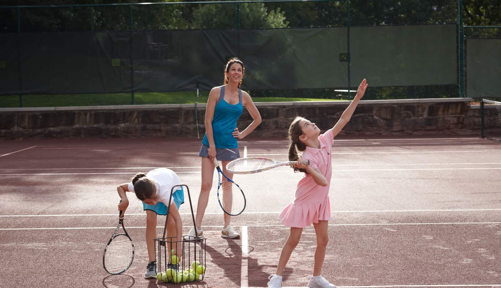 Family Tennis Lessons - Mohonk