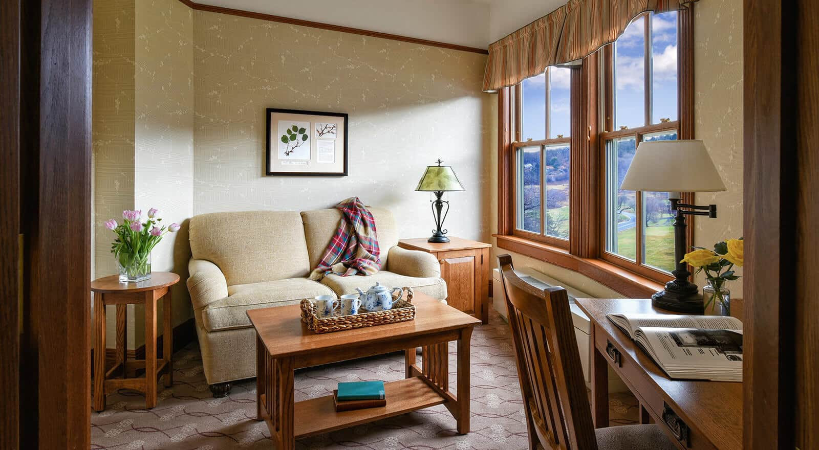Junior Suite Living Accommodations