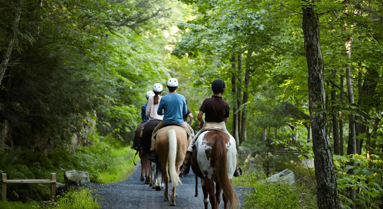 Horseback Riding - Outdoor Activities - Upstate New York - Mohonk