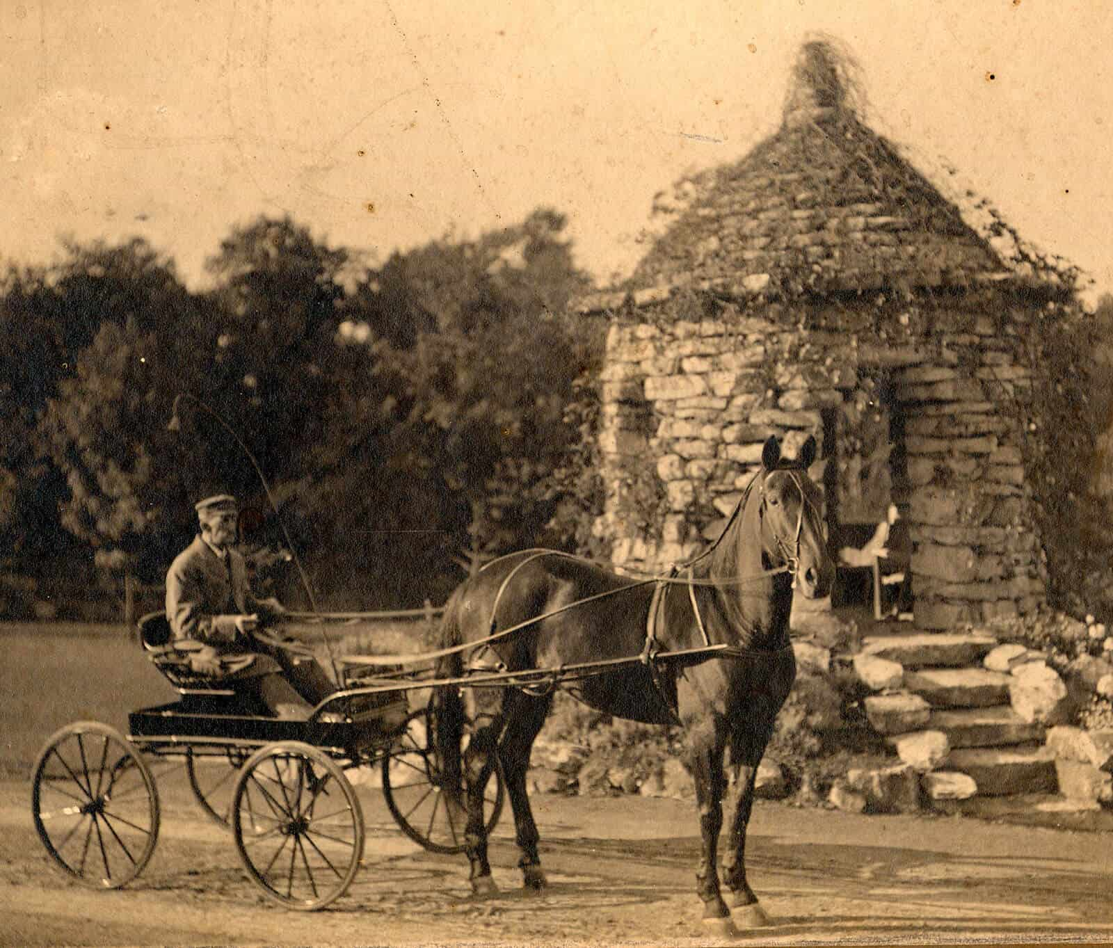 Stone summerhouse at 1900