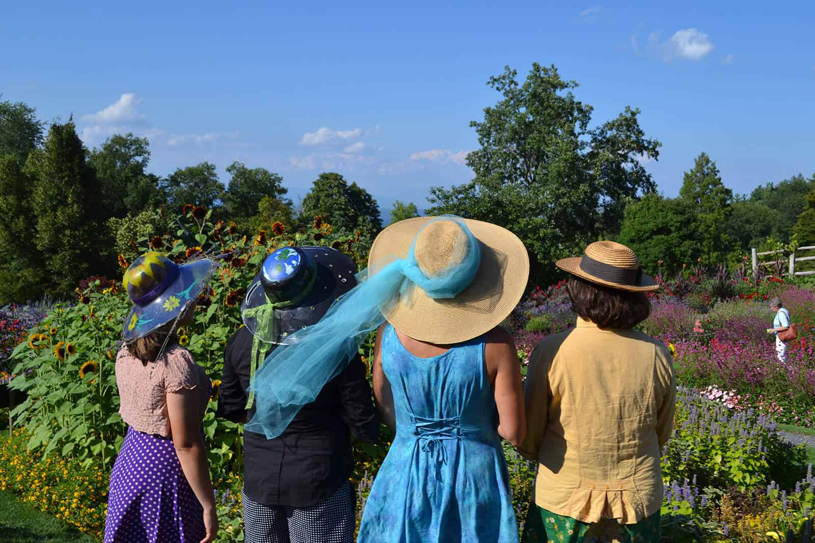 Women in Mohonk Garden