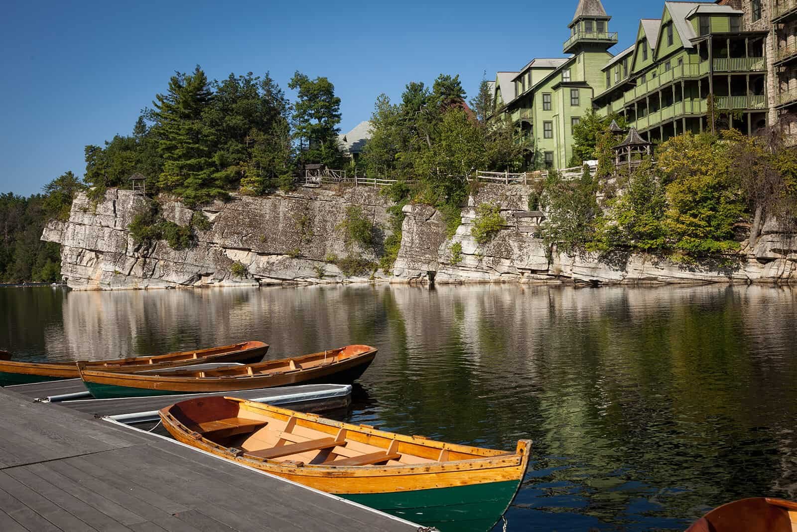 Mohonk canoe Lake