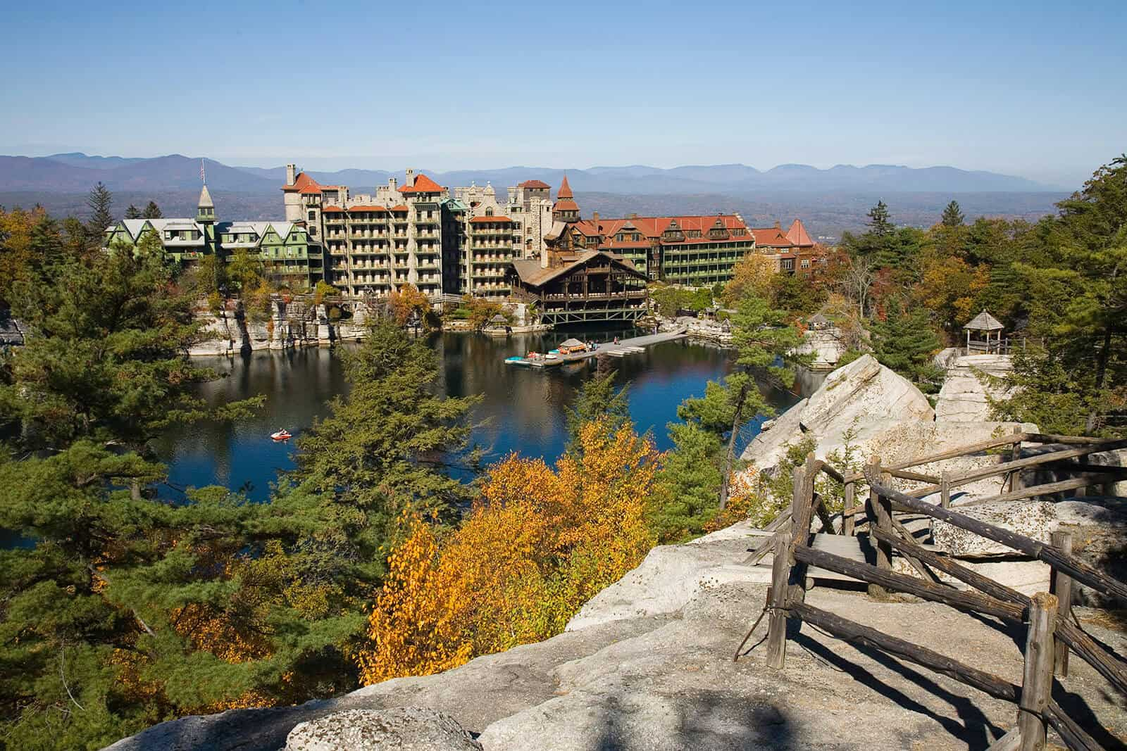 Landscape of Mohonk