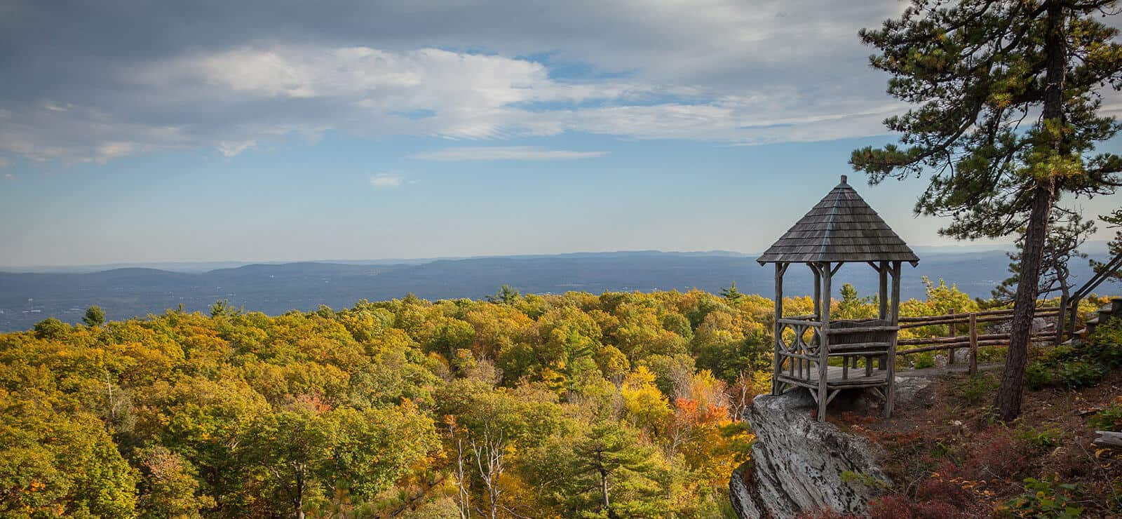 Mohonk in the fall