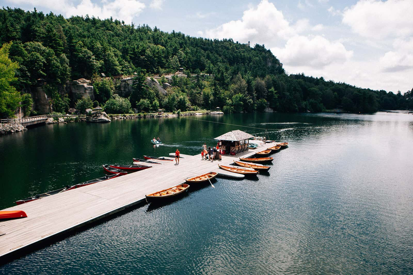 Mohonk lake activities