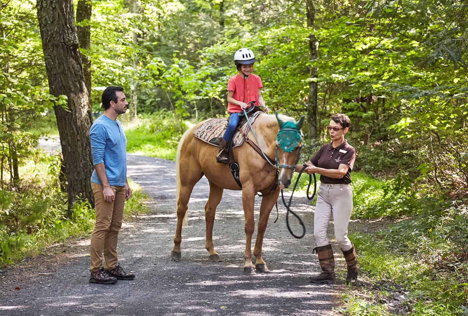 Mohonk Horse back riding