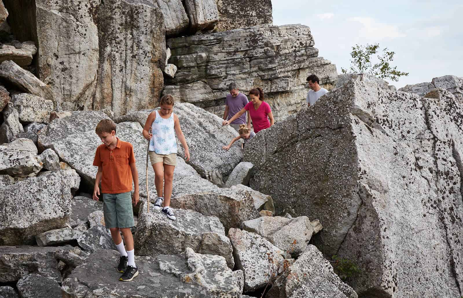 Mohonk Rock Scramble