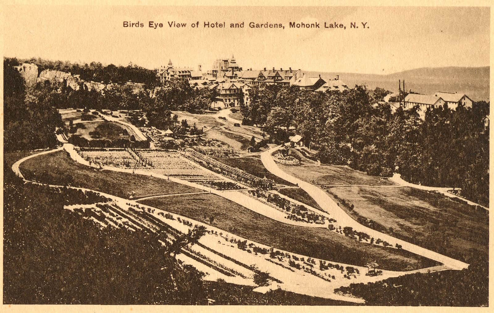 Postcard of Mohonk in 1899
