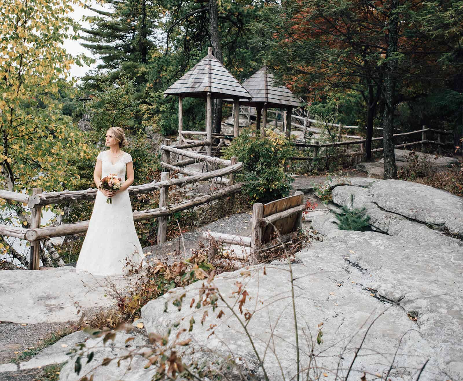 Wedding Photo at Mohonk Mountain House