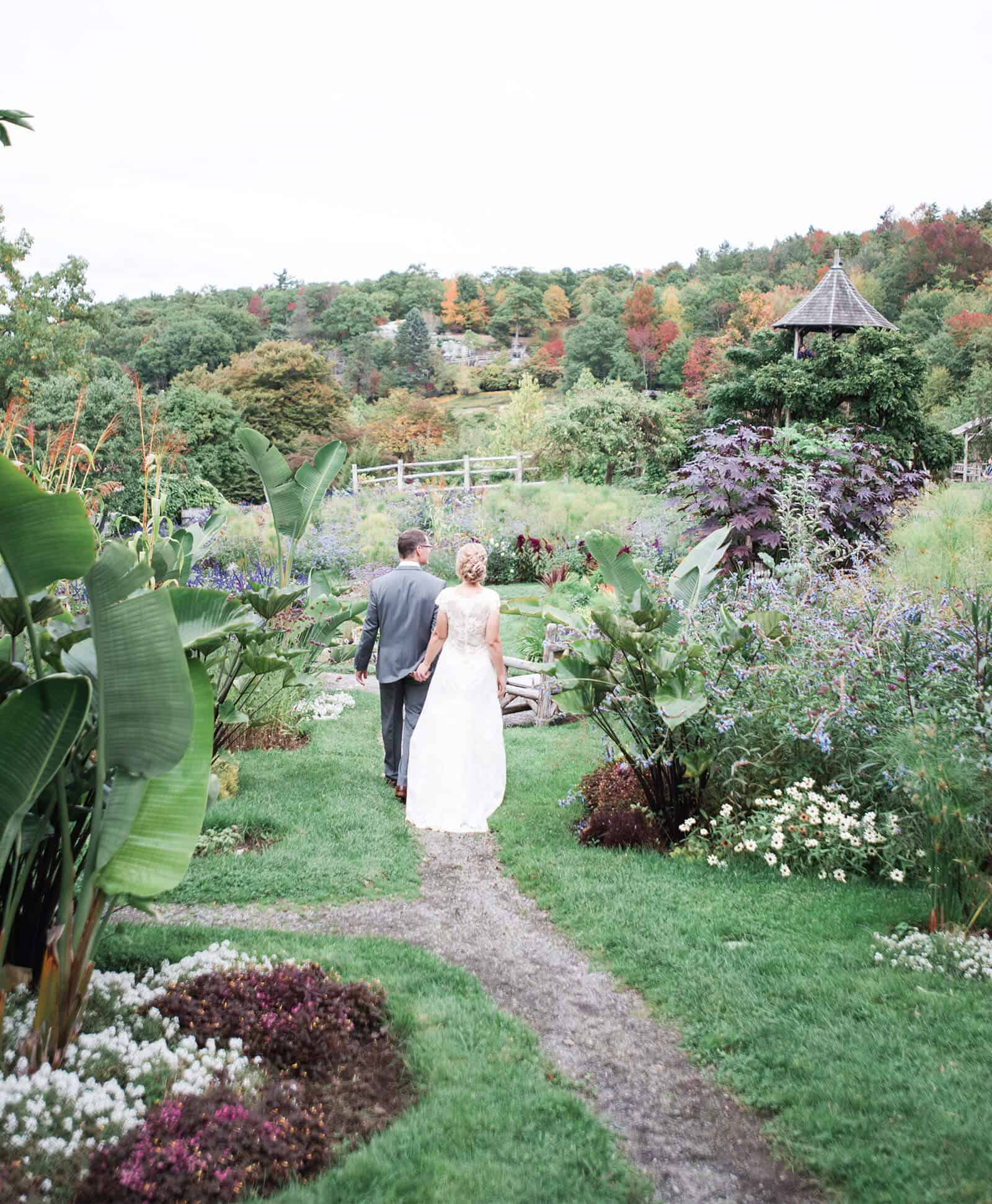 Garden Wedding at Mohonk Mountain House