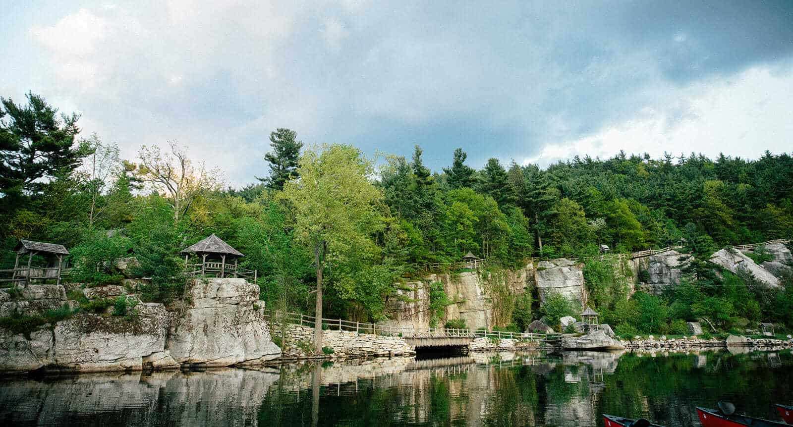 Reflections on Lake Mohonk