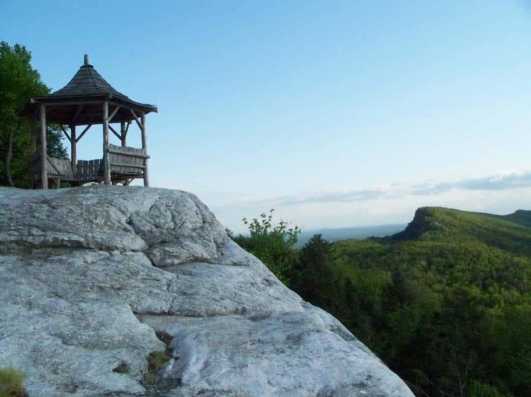 Summer House On Top Of A Cliff Lake Mohonk