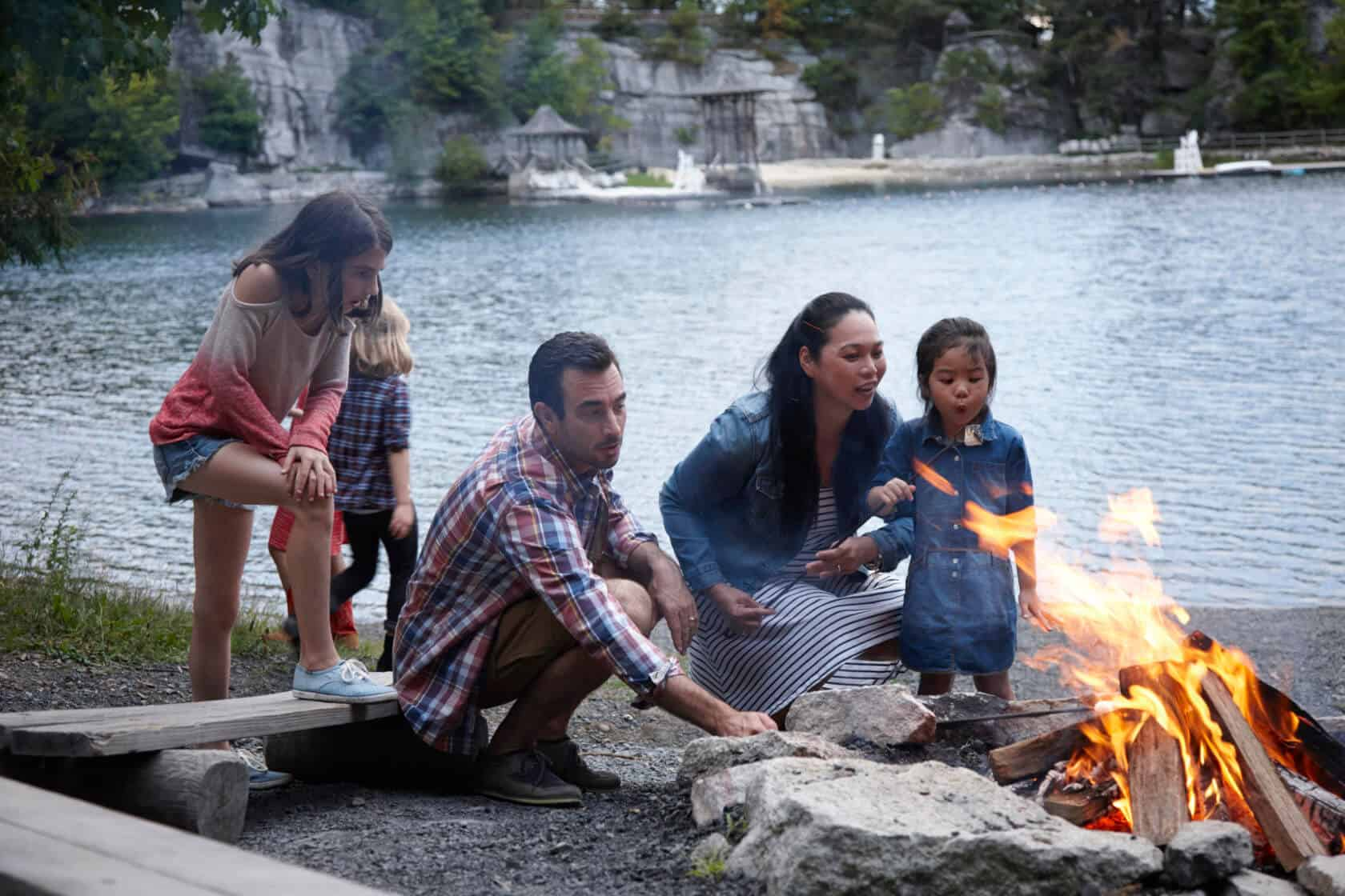 Mohonk Campfire with S'mores