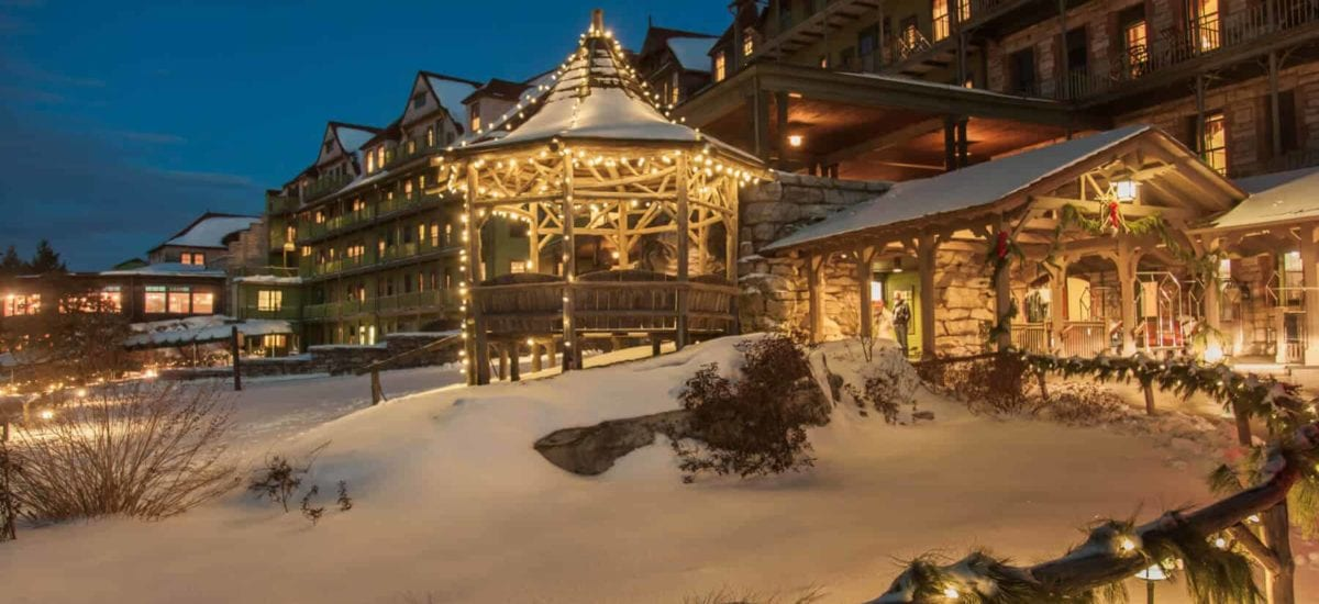 Mohonk Ranked One of the Best Hotels For the Holidays!