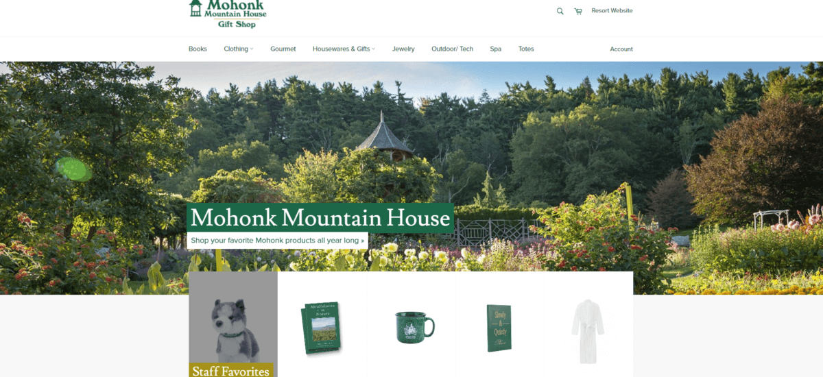 Mohonk Gift Ideas for the Holidays