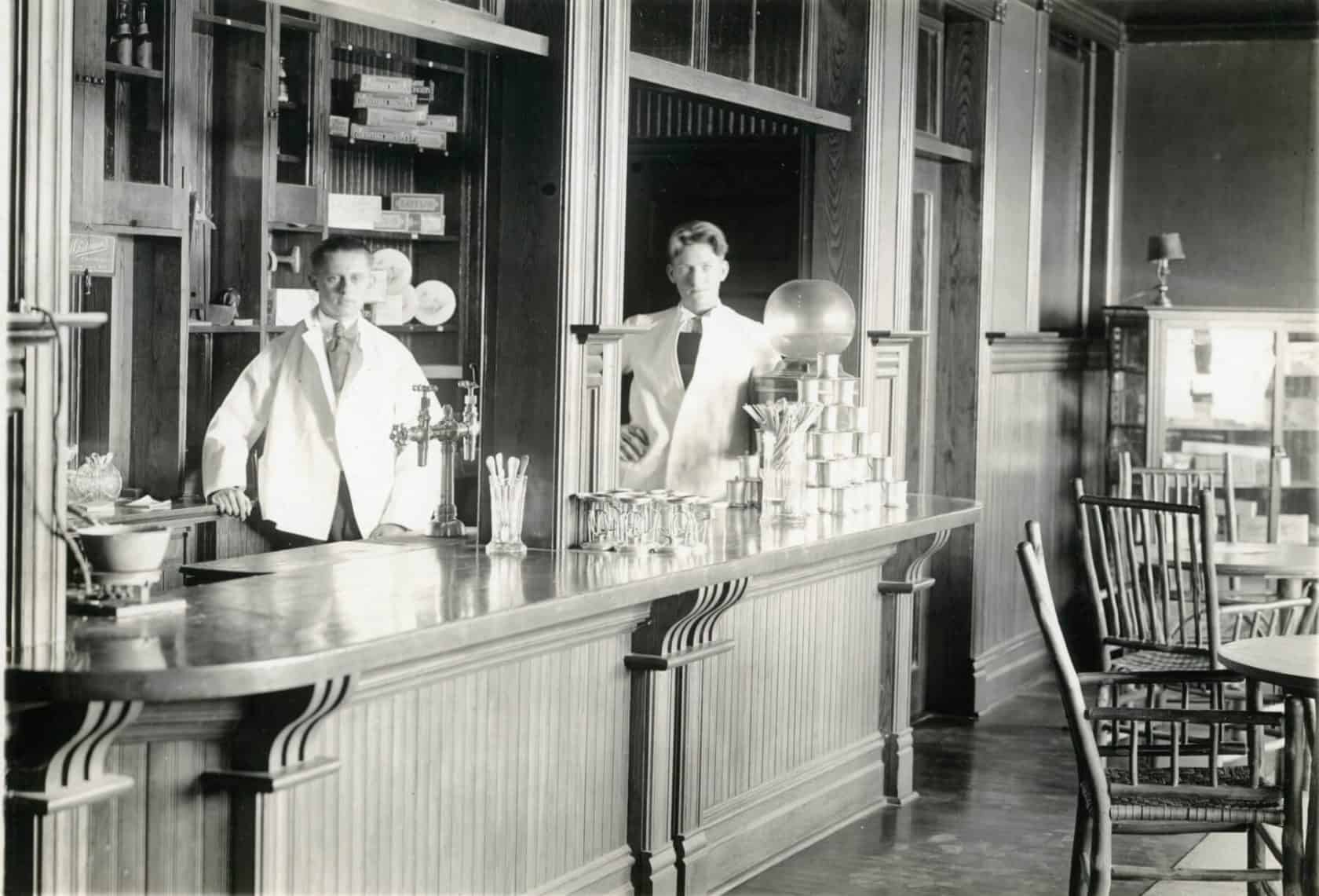 Gift Shop and Soda Fountain, 1919