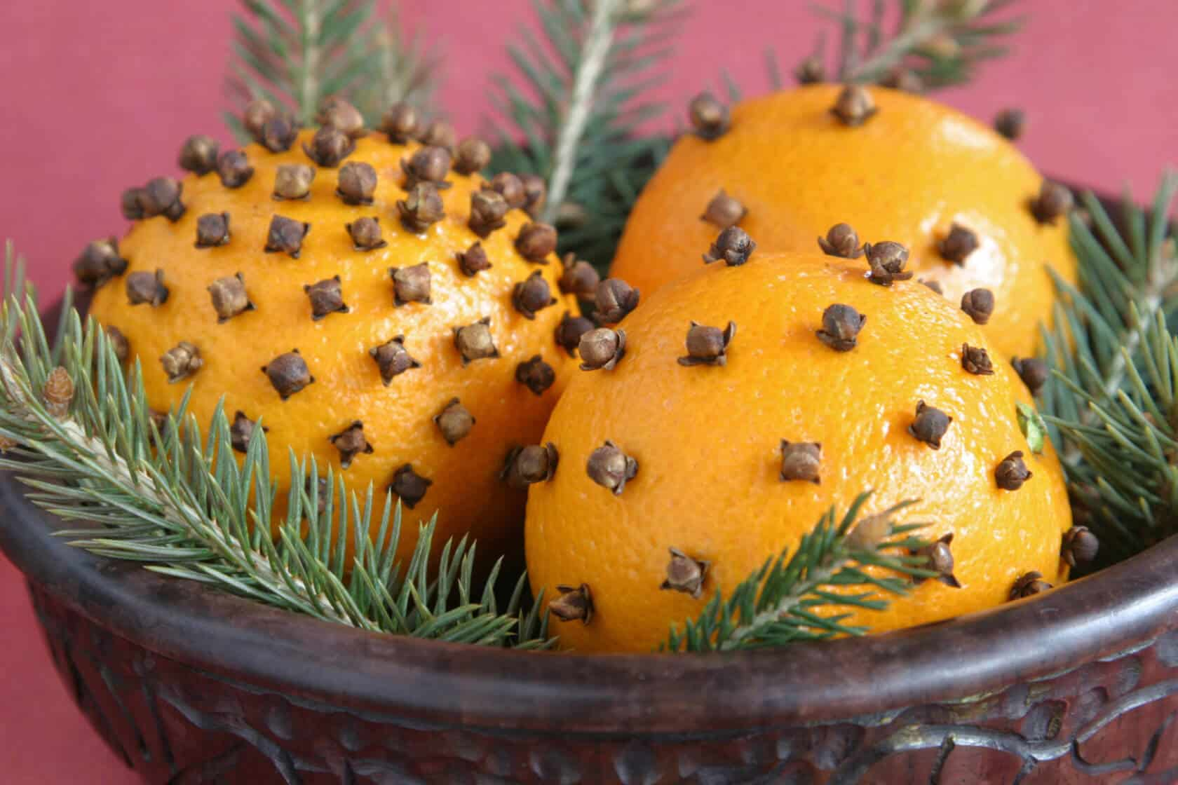 Pomander Orange Cloves