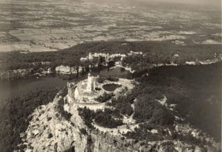 Mohonk Aerial View in 1928