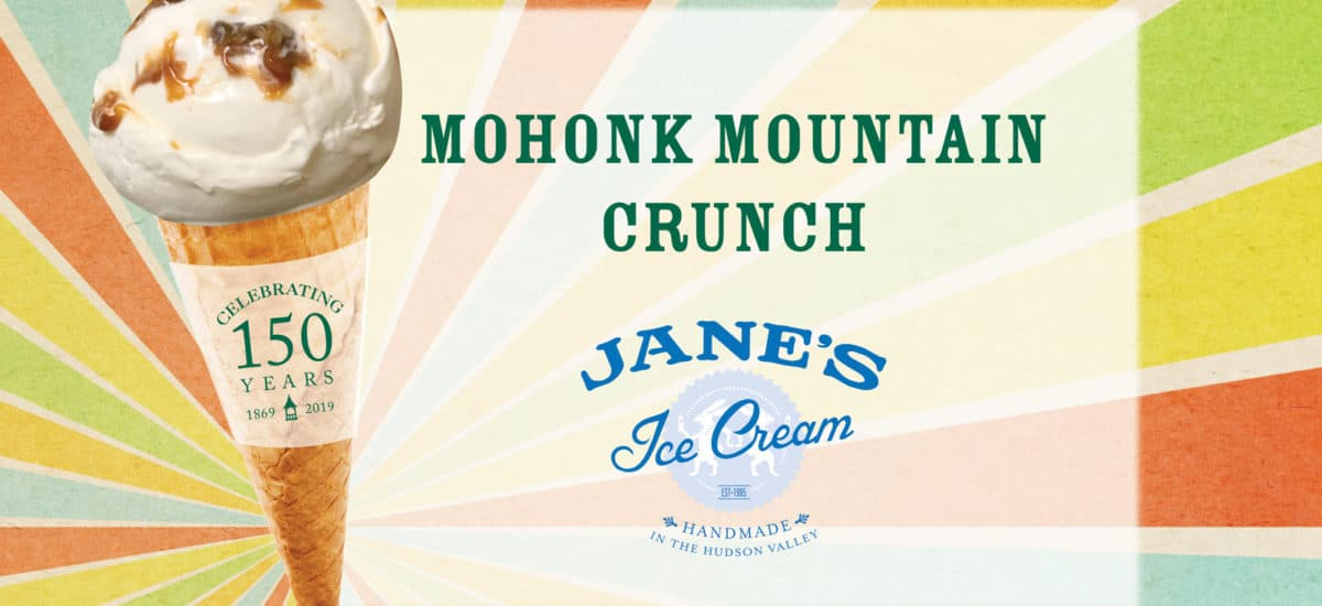 Hudson Valley's Best Ice Cream: Mohonk Mountain Crunch by Jane's Ice Cream