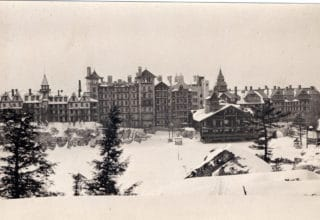 Mtn House Winter 1920s
